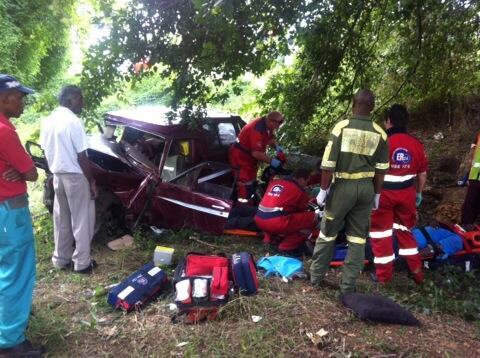Two critical after colliding with tree on the N3 outside of Pietermaritzburg