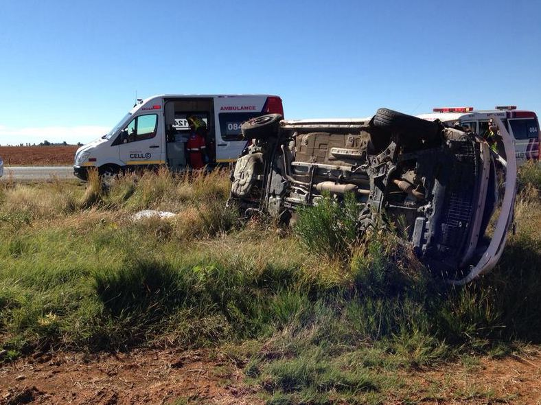 Family of three killed in head-on collision near Muldersdrift