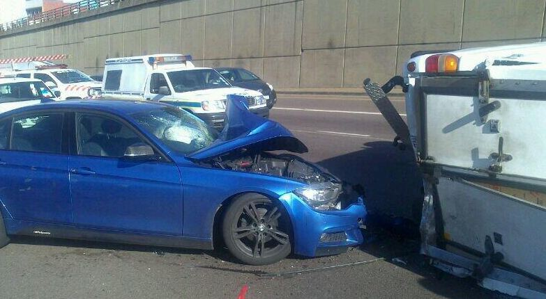 N3 Durban rear -end collision leaves two injured