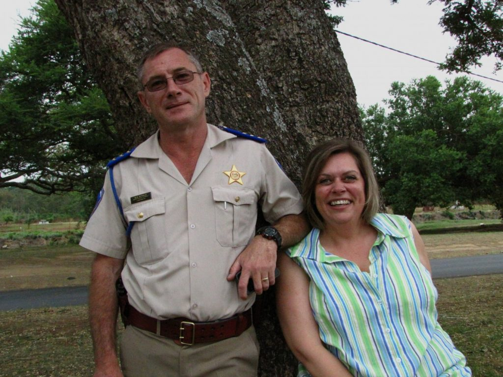 Salute Dave and Mariette Steele - helping to keep the N3 toll route safe this Easter Holiday