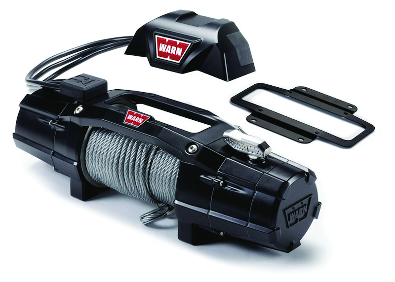 New WARN Zeon Winch fully IP68 rated and operates at lower temperature