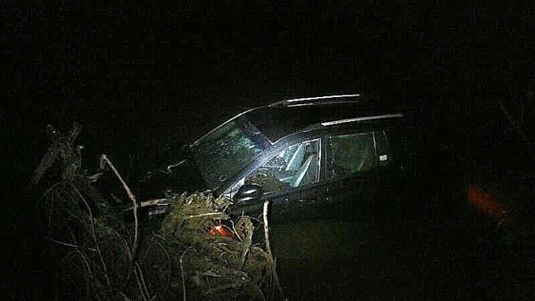 Miraculous escape for a family after their vehicle plunged into a river