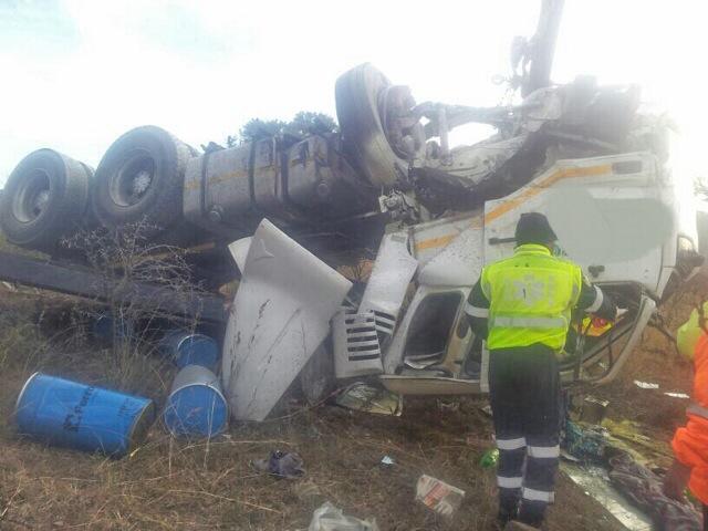 Fatal crash on the N3