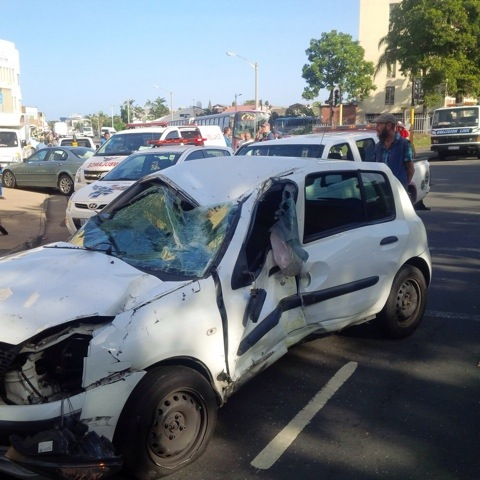 Collision leaves leaves 4 injured in Umbilo