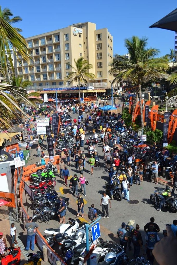 There is much to consider when organizing a bike rally in a town!!!