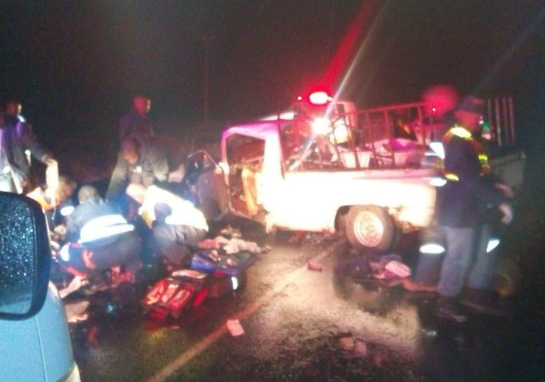 Four injured in Free State head-on collision near Fouriesburg