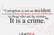 State prosecutor and his wife arrested for alleged corruption, Johannesburg