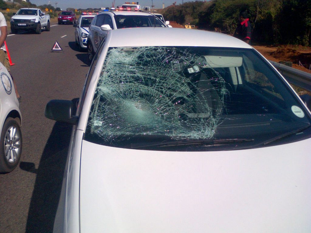 Pedestrian critically injured on N2