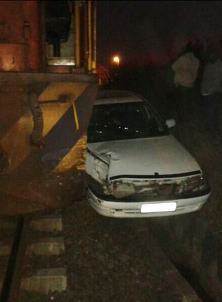 Groutville train crash into car leaves one injured