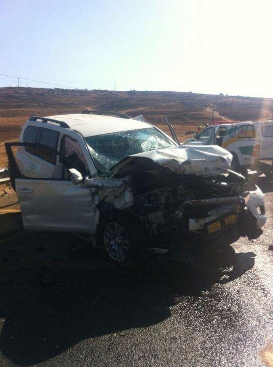 N3 Harrismith head-on collision leaves three injured