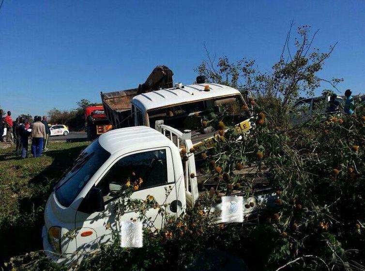R102 Melville collision leaves seven injured