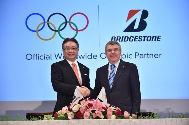 Bridgestone Becomes Official Worldwide Olympic Partner