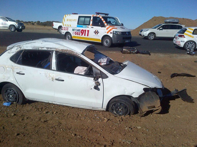 Driver killed in vehicle rollover N1 10km from Bloemfontein