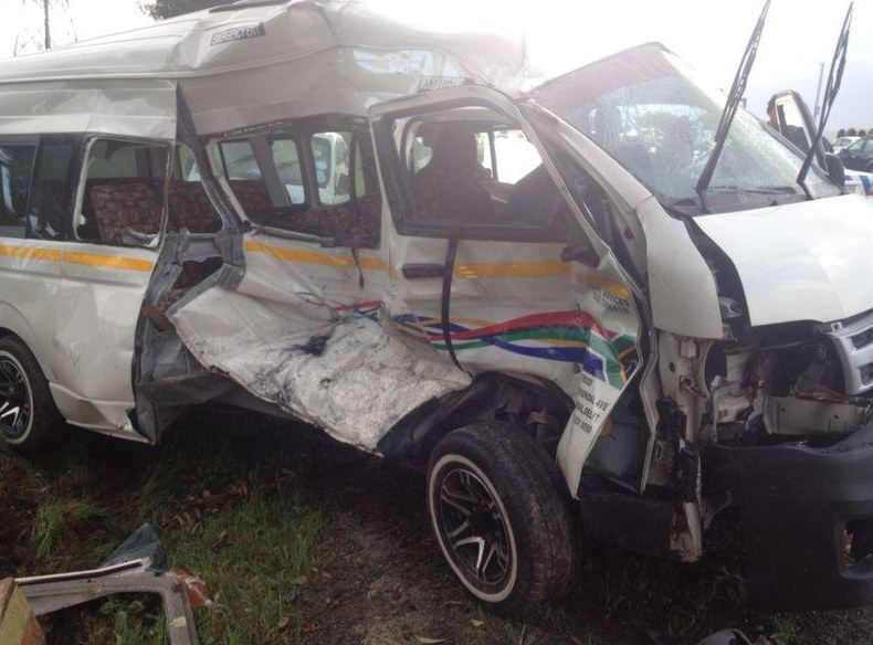 Collision on the R30 in the Western Cape has left eleven people injured