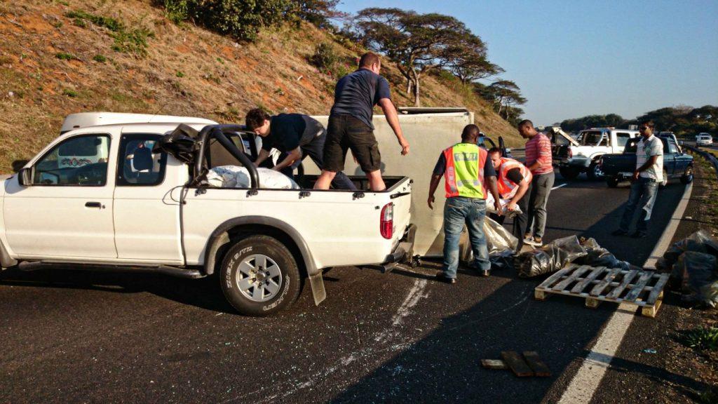 Amanzimtoti vehicle rollover leaves one injured