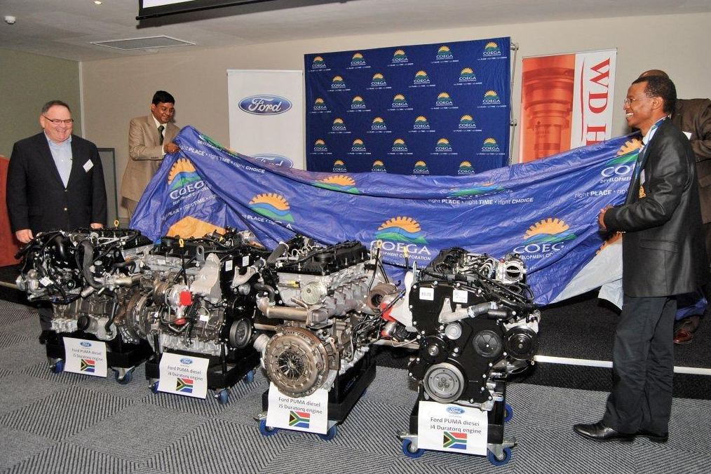 Engines Donated to the Coega Skills and Training Development Centre