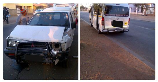 Kimberley collision leaves six injured