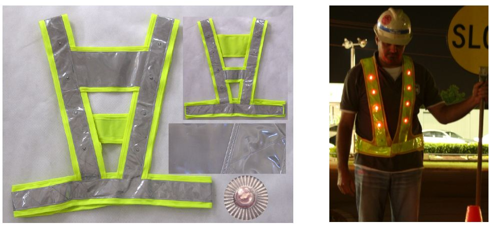 Let us increase our visibility on the roads with high visibility wear