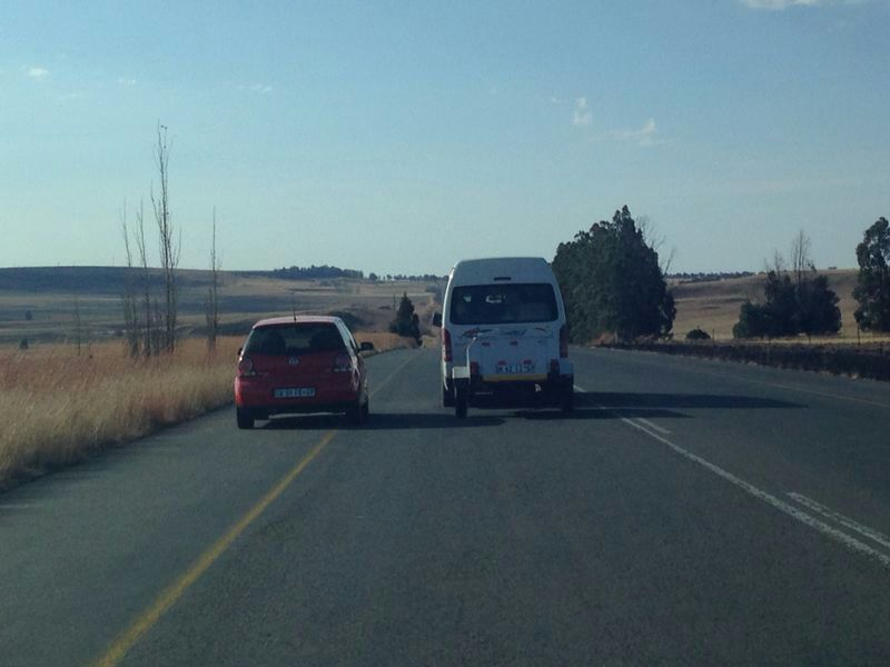 Know the Road Rules about not Overtaking another Vehicle on the Left Shoulder!!
