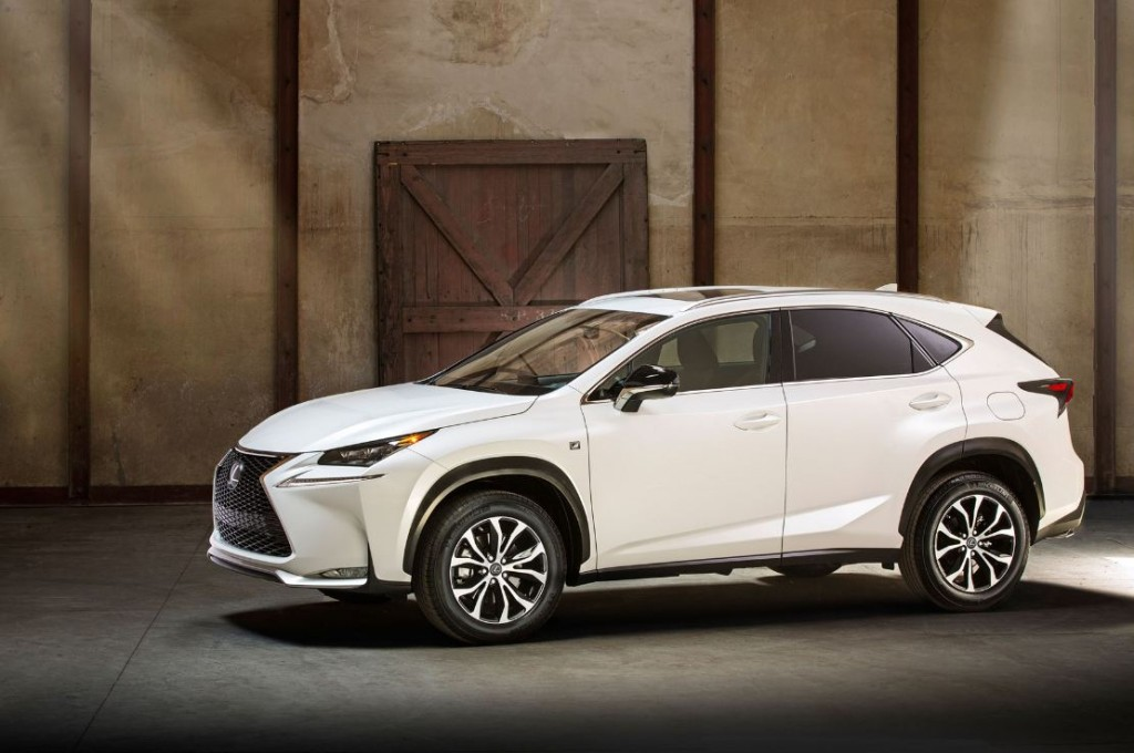 Lexus NX makes its UK public debut at the RHS Hampton Court Palace Flower Show