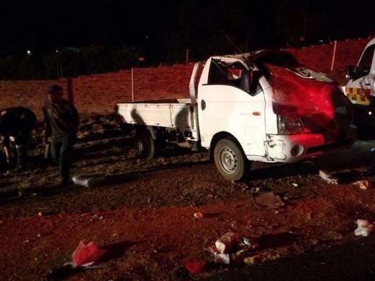 Mooikloof delivery vehicle rollover leaves twenty three injured