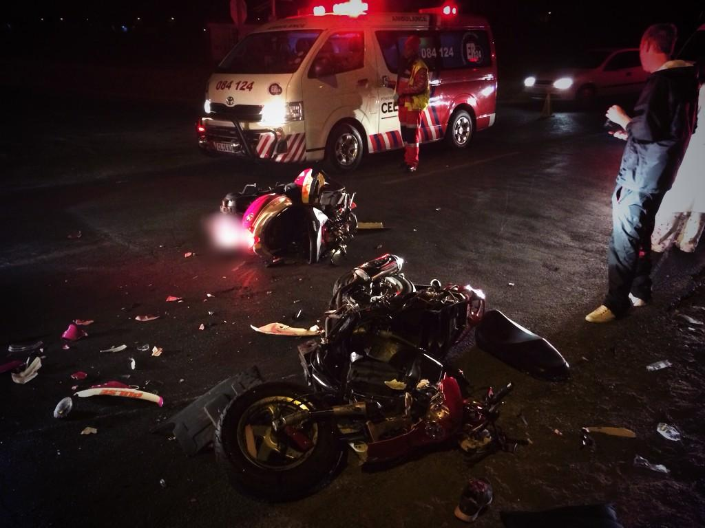 Two critical after scooter collision in Benoni