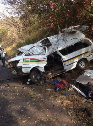 KZN Noodsberg taxi rollover leaves three injured