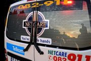 Cyclist seriously injured after he was hit by a vehicle in Leisure Bay this evening