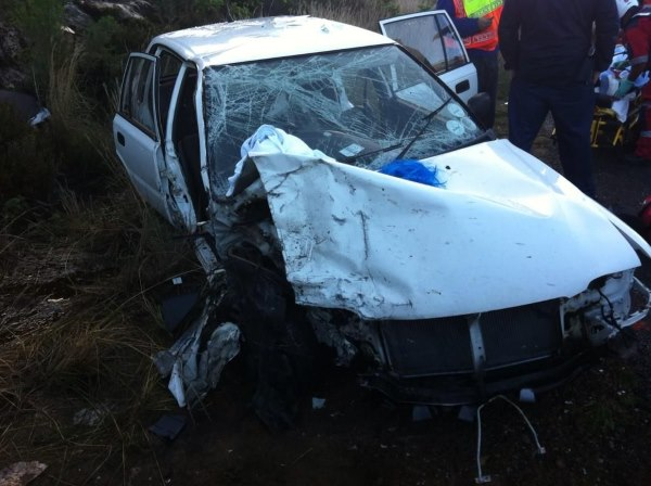 Seven injured in Ou Kaapse Weg collision, Fishoek