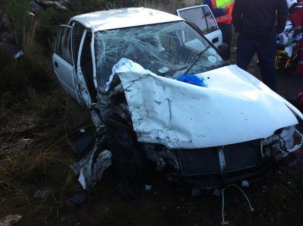 Seven injured in Ou Kaapse Weg collision, Fishoek