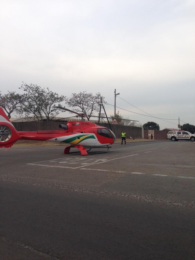 Pedestrian critically injured on Newlands West Drive in Durban