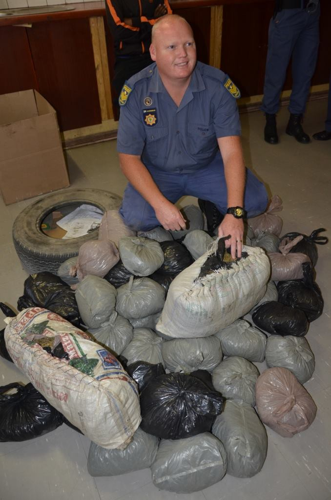 51 Bags of dagga found in a taxi, man arrested