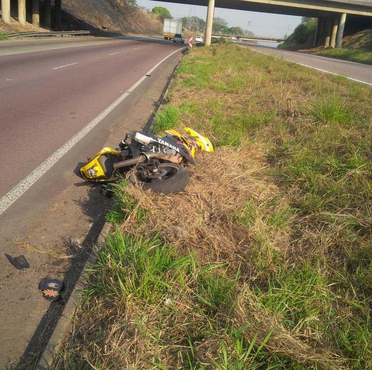 Bike crash Northdene