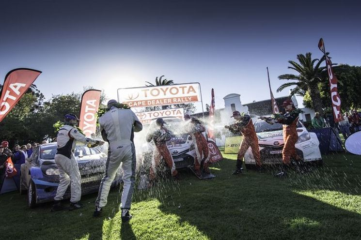 Spectacular results for Toyota in Cape Dealer Rally