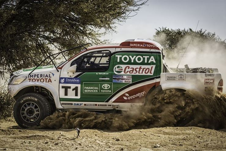 Toyota trio at the top of the table before round 6 of the Donaldson Cross-Country Championships