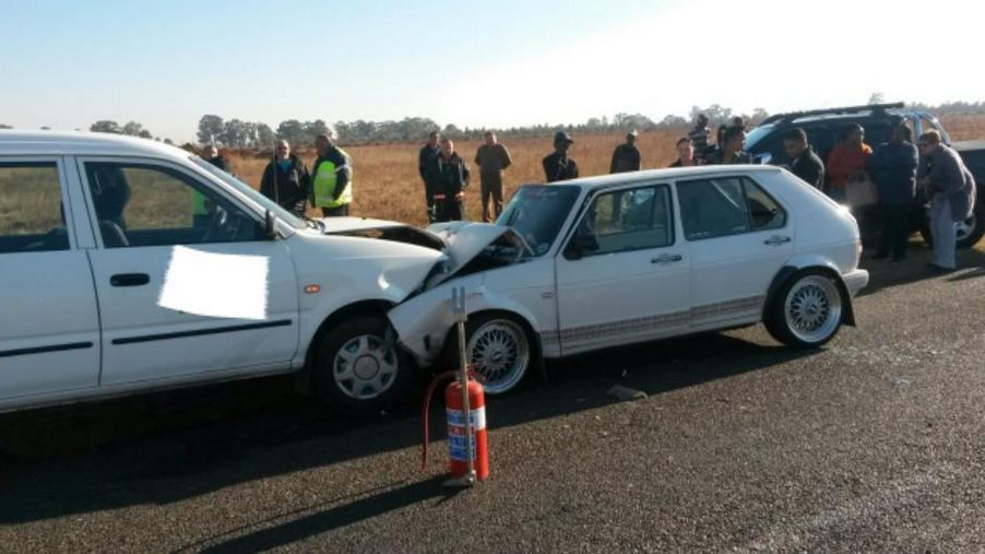 Benoni head-on collision leaves four injured