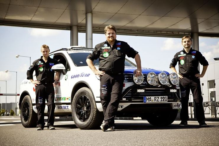 Team Zietlow goes for their World Record Drive from Norway to Cape Agulhas in South Africa