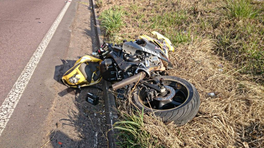 Biker killed on M7 after crashing into rocks on verge of the road