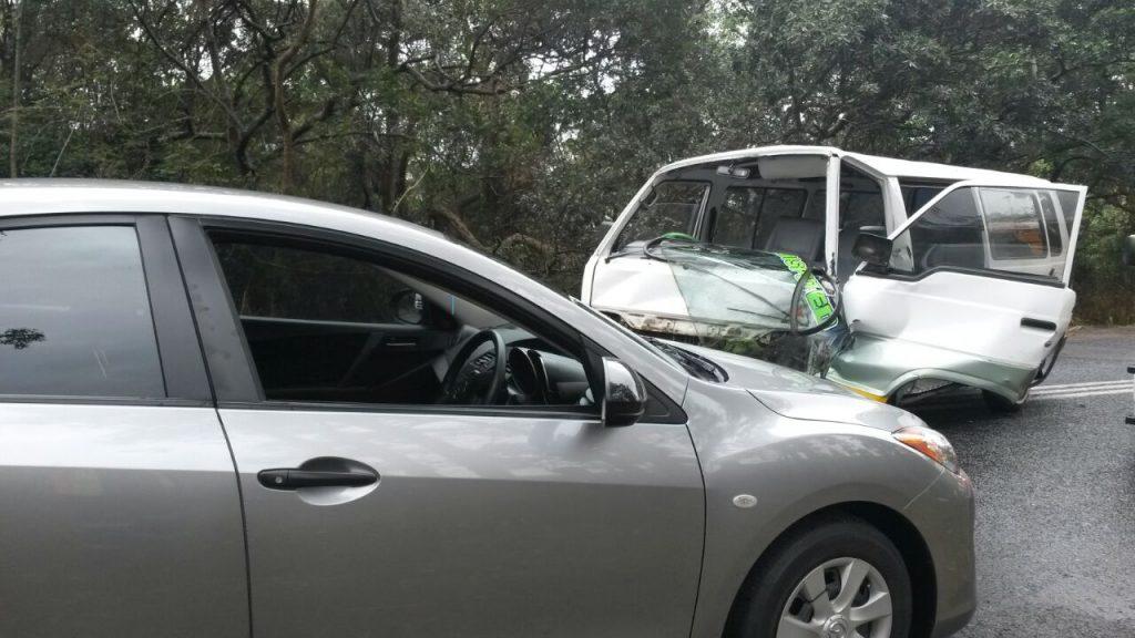 KZN Margate crash leaves two injured