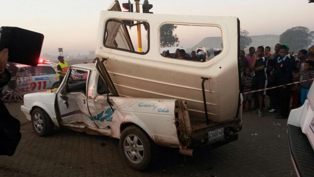 Benoni collision leaves five injured