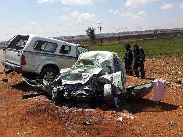 One dead, another critical in Benoni head-on collision