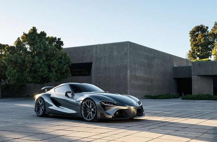 Toyota FT-1 Sports Car Concept - A car fit for superheroes