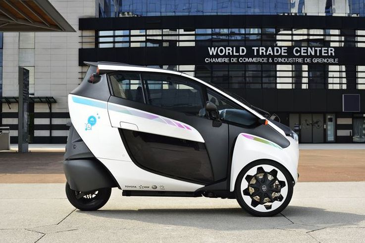 Toyota's ultra-compact electric vehicle ready to run in French urban mobility project