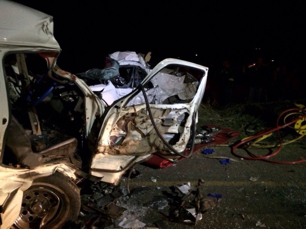 KZN Mandini road crash leaves four dead and eight injured