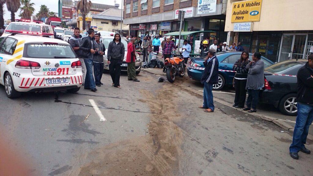 KZN Tongaat multiple vehicle collision leaves two injured