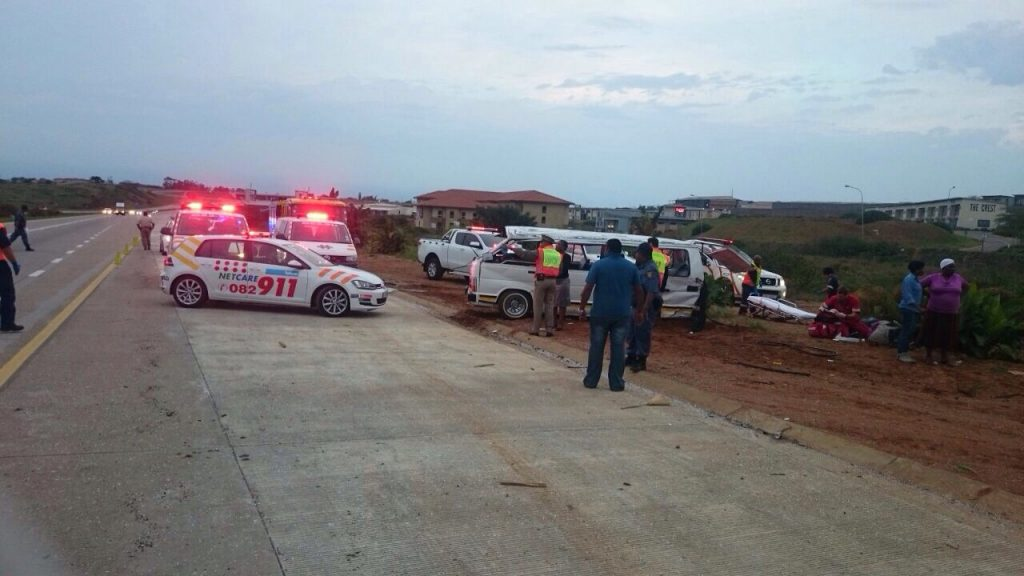 Driver fortunate to escape uninjured after crash into fence in Zastron Street, Bloemfontein