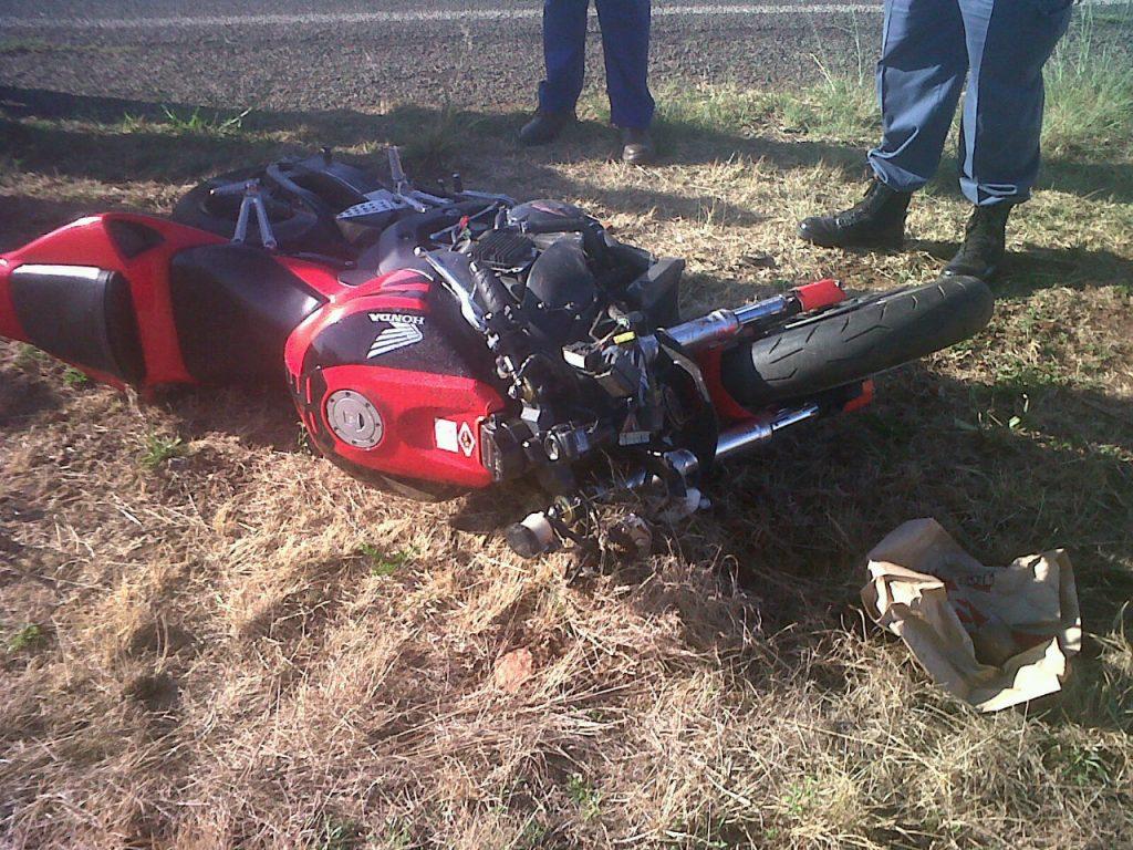 Potchefstroom N12 crash leaves biker injured