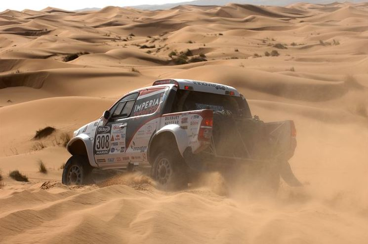 Excellent opening stage for Toyota's De Villiers / Von Zitzewitz on Rally of Morocco