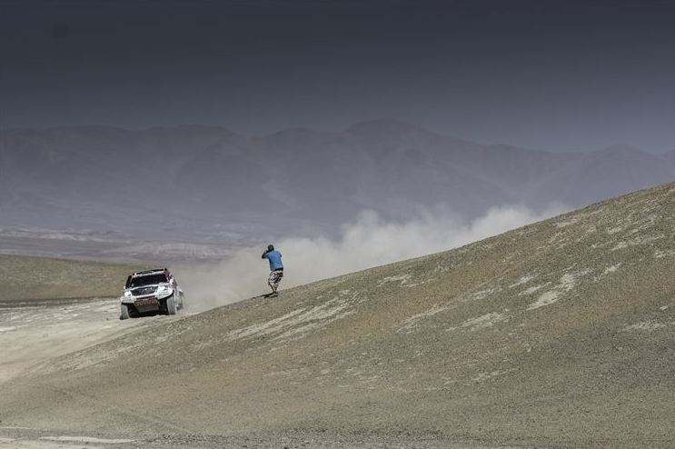 Stunning stage win for De Villiers / Von Zitzewitz in Rally of Morocco
