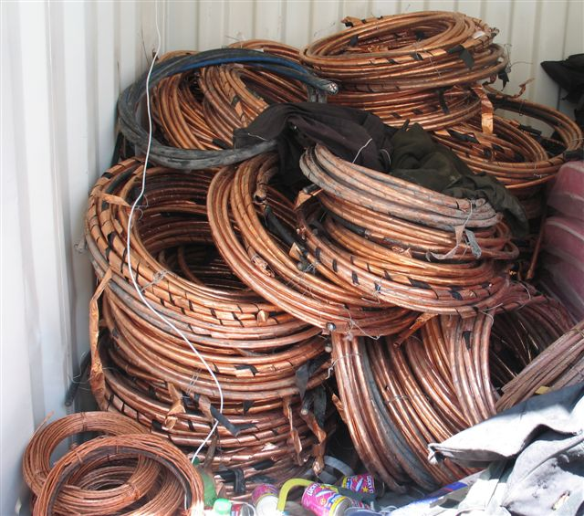 Ten held for possession of stolen copper cables